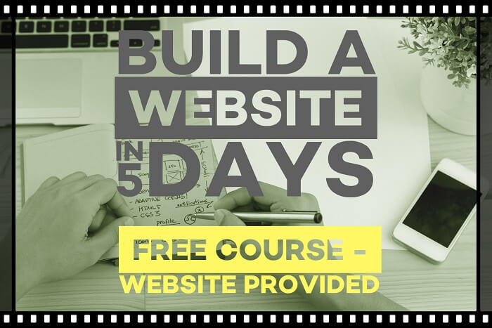 build a website in 5 days 700-467
