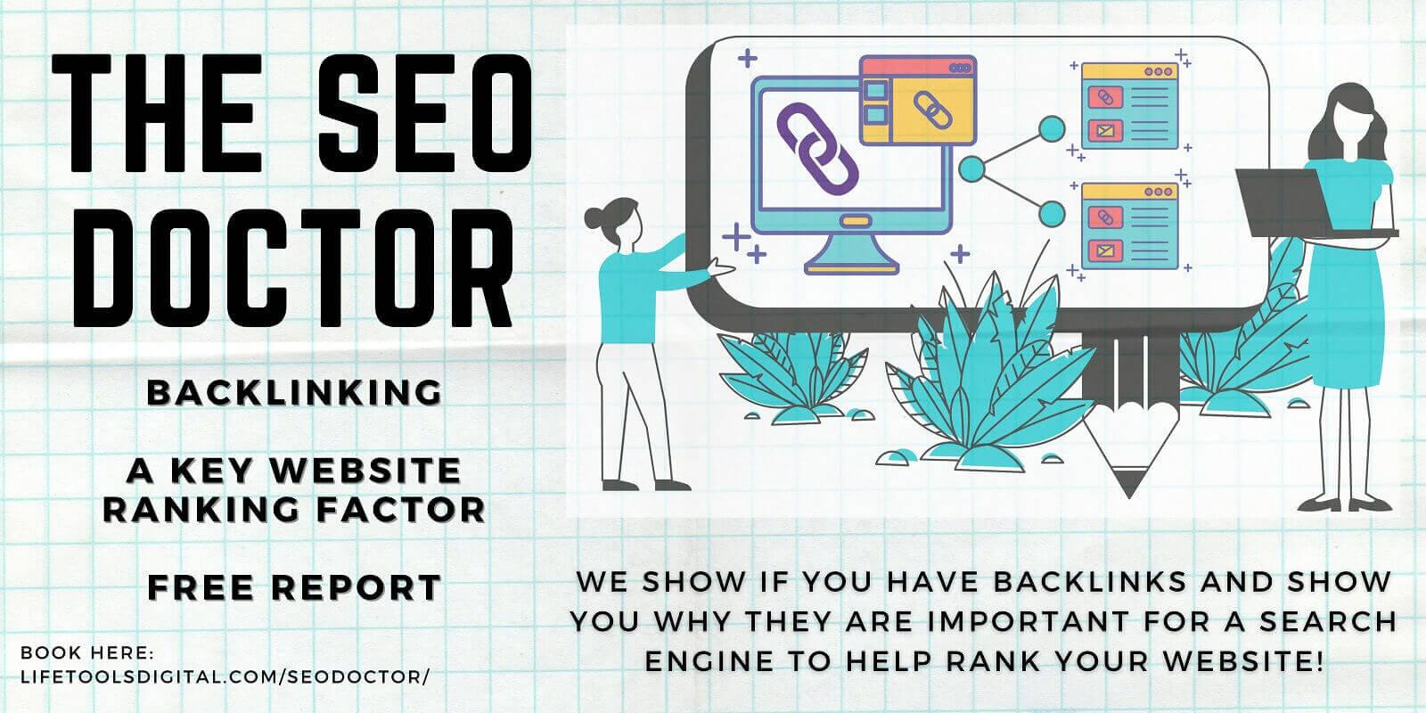 SEO Doctor Backlinking Report