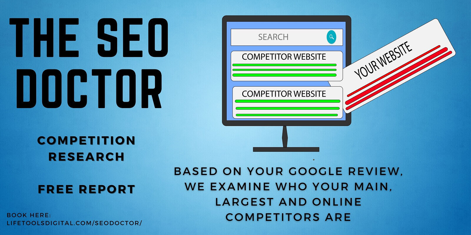 SEO Doctor Competitor Review Report