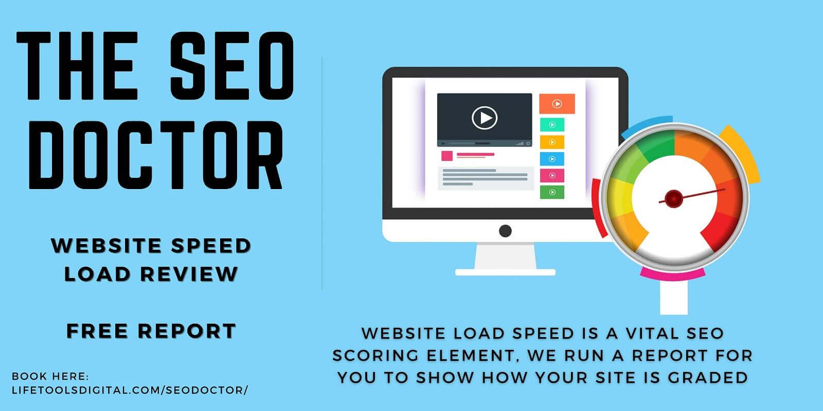 SEO Doctor Website Speed Loading Report